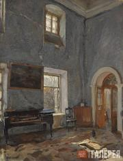 Serov Valentin. Parlour in the Old House. The Belkino Estate. 1904