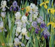 Yelena KHOLODILINA. Irises. 1996