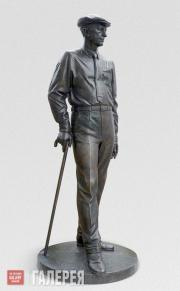 Kovalchuk Andrei. Monument to Ivan Bunin. 2017