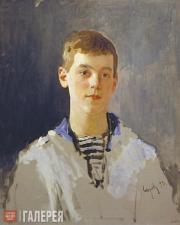 Serov Valentin. Portrait of Grand Duke Mikhail Alexandrovich as a Child. 1893