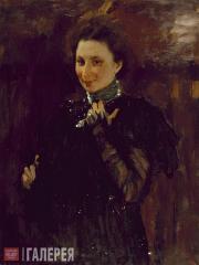 Serov Valentin. Portrait of Mara Oliv. 1895