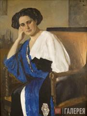 Serov Valentin. Portrait of Yelena Balina. 1911