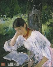 Serov Valentin. Portrait of Adelaida Simonovich. 1889