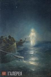 Aivazovskiy Ivan. Walking on the Water. 1897