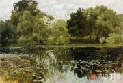 Levitan Isaaс. Overgrown Pond. 1887
