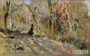 Levitan Isaaс. Autumn Forest. 1886