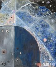 Goncharova Natalia. Abstract Composition (Arc). 1958