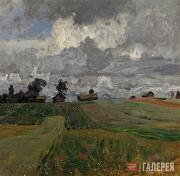 Levitan Isaaс. Stormy Day. 1897