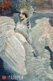 Vrubel Mikhail. The Swan Princess. 1900