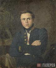 Scotti Mikhail. Portrait of A.I. Terebenev. 1835