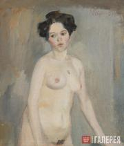 Petrov-Vodkin Kuzma. A Nude Female Model. 1901-1902