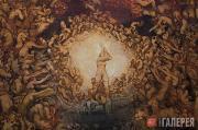 Вигеланн Эммануэль. Центральная часть фрески на восточной стене cклепа «Томба Эм