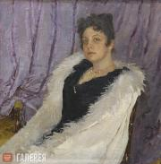 Serov Valentin. Portrait of Zinaida Moritz. 1892