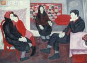 Popkov Viktor. Divorce (Svetlana, mother, father and grandmother). 1966