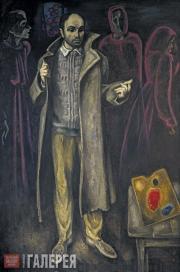 Popkov Viktor. Father's Greatcoat. 1970-1972