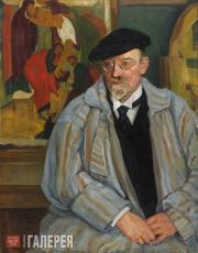 Вербов Михаил. Портрет Ильи Семеновича Остроухова. 1924