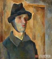Falk Robert. Self-portrait with Bandaged Ear. 1921