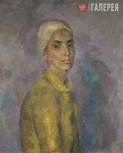 Falk Robert. Woman in a Yellow Blouse (А.V.Shchekin-Krotova). 1944