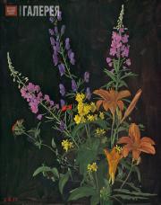 Жилинский Дмитрий. 1937 год. Левая часть триптиха. 1987