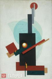 Georgy Ryazhsky. Suprematism. 1920
