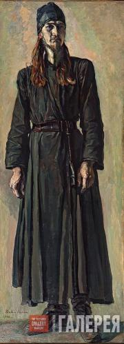 Korin Pavel. Young Hieromonk (Priest-monk) Fyodor. 1932