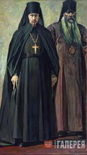 Korin Pavel. The Hieromonk and the Bishop (Hieromonk Pimen and Bishop Antonin).