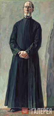 Korin Pavel. Archdeacon Kholmogorov. 1935