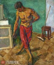 Konchalovsky Pyotr. Floor-Polisher. 1946