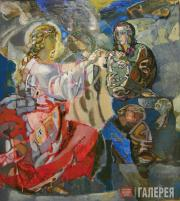 Kalinin Viktor. The Annunciation. 1989–1999