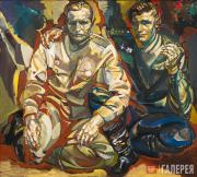 Kalinin Viktor. Father and Son. The Year 1945. 2005
