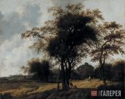 Anthonie Jansz Van der CROOS. Park of the Castle Huis ten Bosch