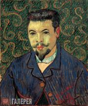 Vincent van Gogh. Portait of Dr Felix Rey. 1889