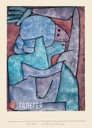 Klee Paul. Woman Cursing. 1939