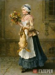 Ludwig KNAUS. Congratulations. 1877