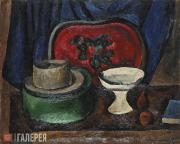 Konchalovsky Pyotr. Still-life with Red Tray. 1912