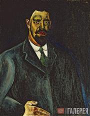 Кончаловский Петр. Автопортрет. 1910