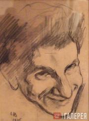 Л.С.Бакст. Портрет Исая Розенберга. 1905