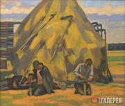 Ivanov Viktor. Sharpening the Scythes. 2008