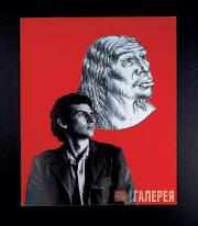 Alexander KOSOLAPOV. Son and Cro-Magnon Man. Part I of triptych Fathers and Son.