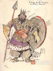Korovin Konstantin. Tsar Dodon. 1909