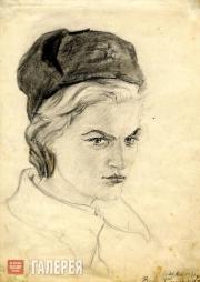 Н.А. КОВАЛЬЧУК. Валя. 1941
