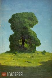 Kuindzhi Arkhip. A Tree. 1890-1895