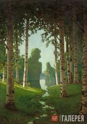 Kuindzhi Arkhip. A Birch Grove. 1901
