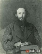 Kramskoi Ivan. Portrait of Nikolai Ge. 1879 (?)
