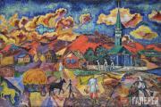 David Burlyuk. Red Noon. 1915-1918