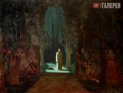 Kuindzhi Arkhip. Christ in the Garden of Gethsemane. 1901
