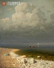 Kuindzhi Arkhip. Lake Ladoga. 1871