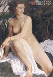 Serebryakova Zinaida. Bathing Woman. 1911