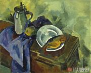 Kuprin Alexander. Still-life with Vobla. 1918
