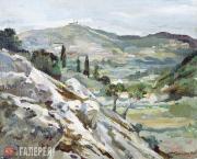 Kurilko-Ryumin Mikhail. Landscape. Greece. 2002